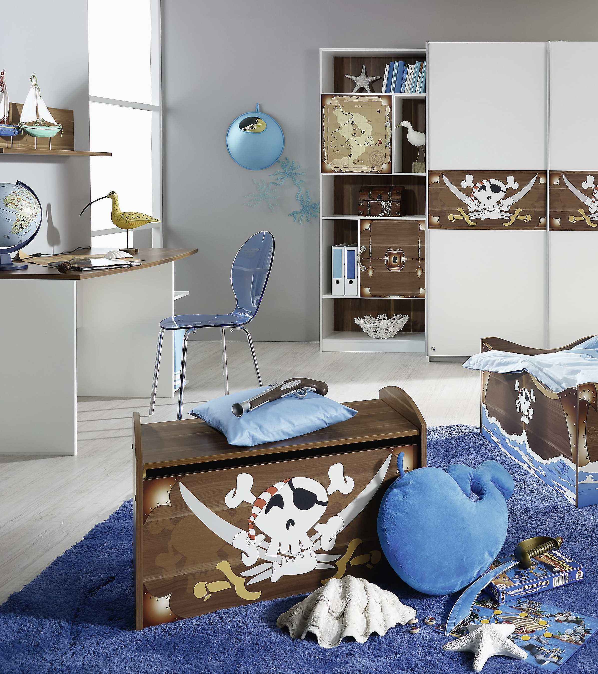 d co chambre pirate a faire soi meme exemples d 39 am nagements. Black Bedroom Furniture Sets. Home Design Ideas