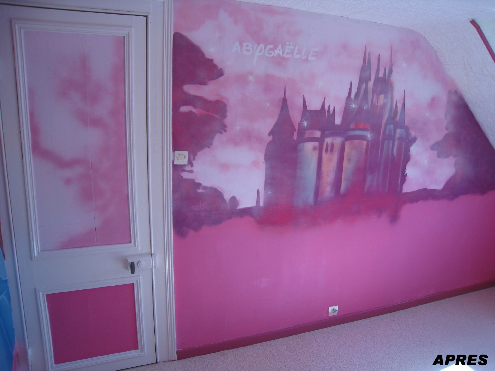 D co chambre princesse disney exemples d 39 am nagements - Deco princesse chambre ...
