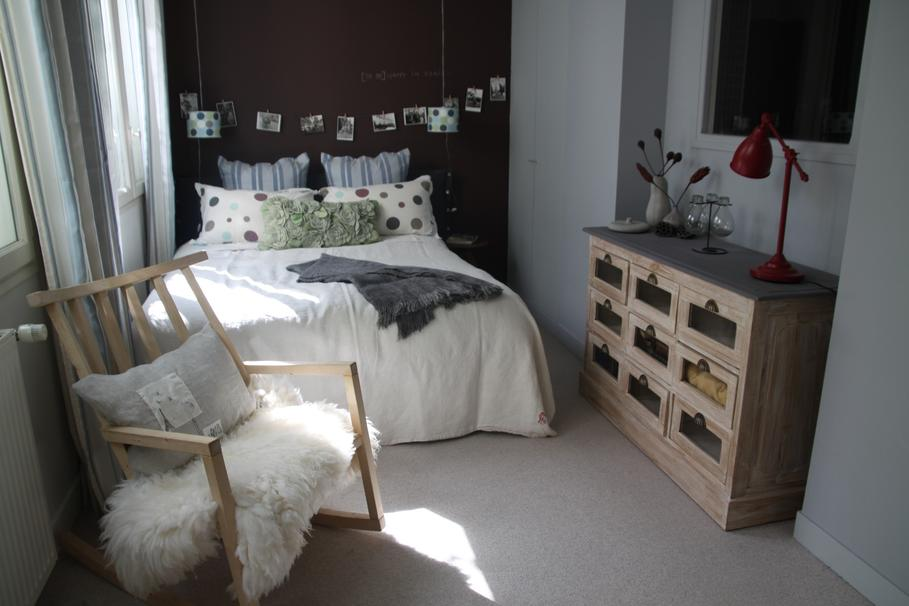 Id es d co petite chambre adulte - Idee decoration chambre adulte ...