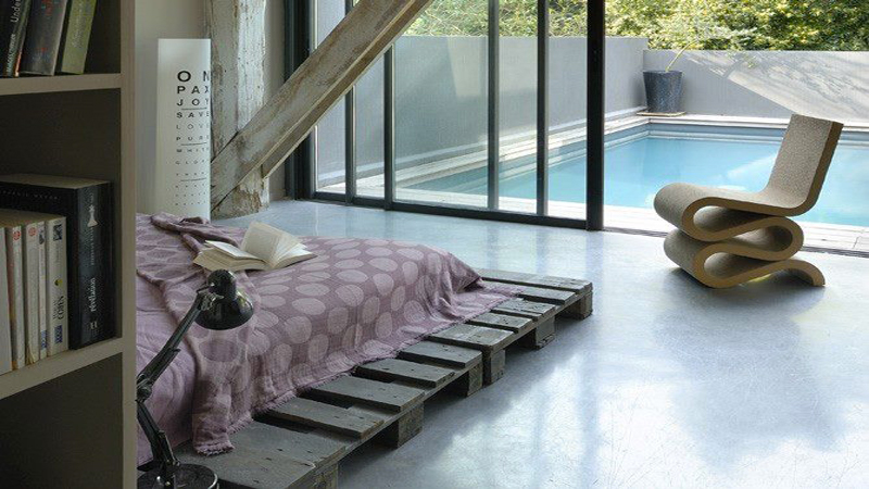 d co chambre recuperation exemples d 39 am nagements. Black Bedroom Furniture Sets. Home Design Ideas