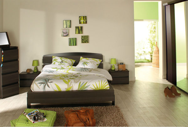 d co chambre relaxante exemples d 39 am nagements. Black Bedroom Furniture Sets. Home Design Ideas