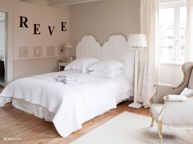 Déco chambre romantique - Exemples d\'aménagements