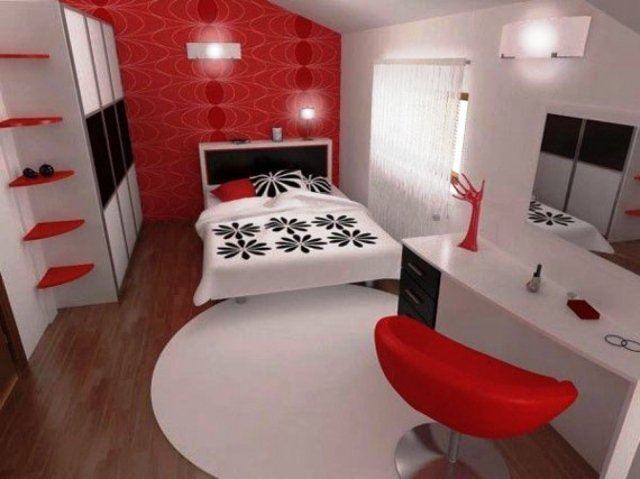 Best Chambre Rouge Et Blanc Pictures - Design Trends 2017 ...