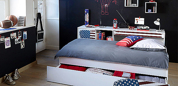D co chambre style anglais ado exemples d 39 am nagements - Decoration chambre ado style americain ...