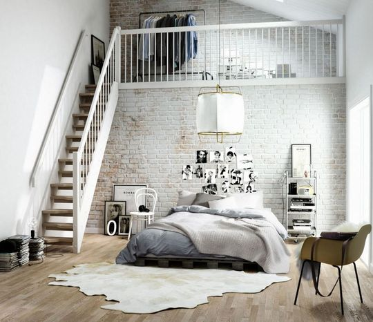 chambre loft new yorkais dco chambre style loft new yorkais - Chambre Loft New Yorkais