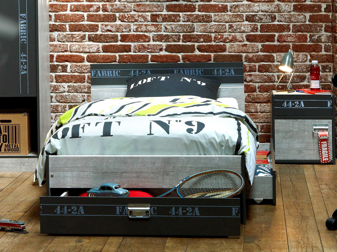Deco Chambre Style Loft Exemples D Amenagements