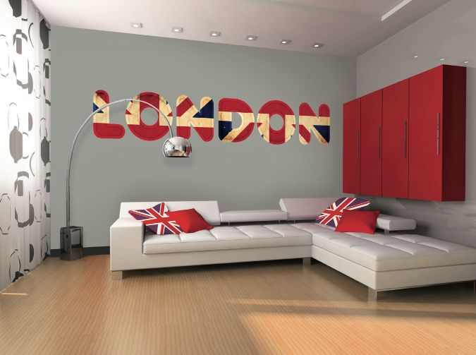 D co chambre sur londres exemples d 39 am nagements - Deco kamer ...