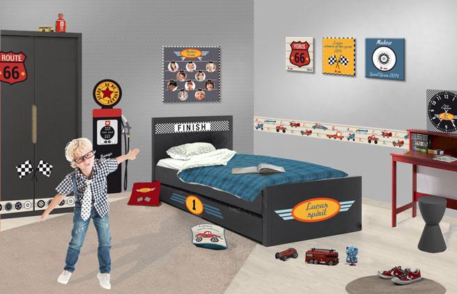 Chambre Deco Garage : Déco chambre theme garage exemples d aménagements