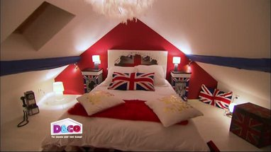 D co chambre theme london exemples d 39 am nagements - Idee deco chambre london ...