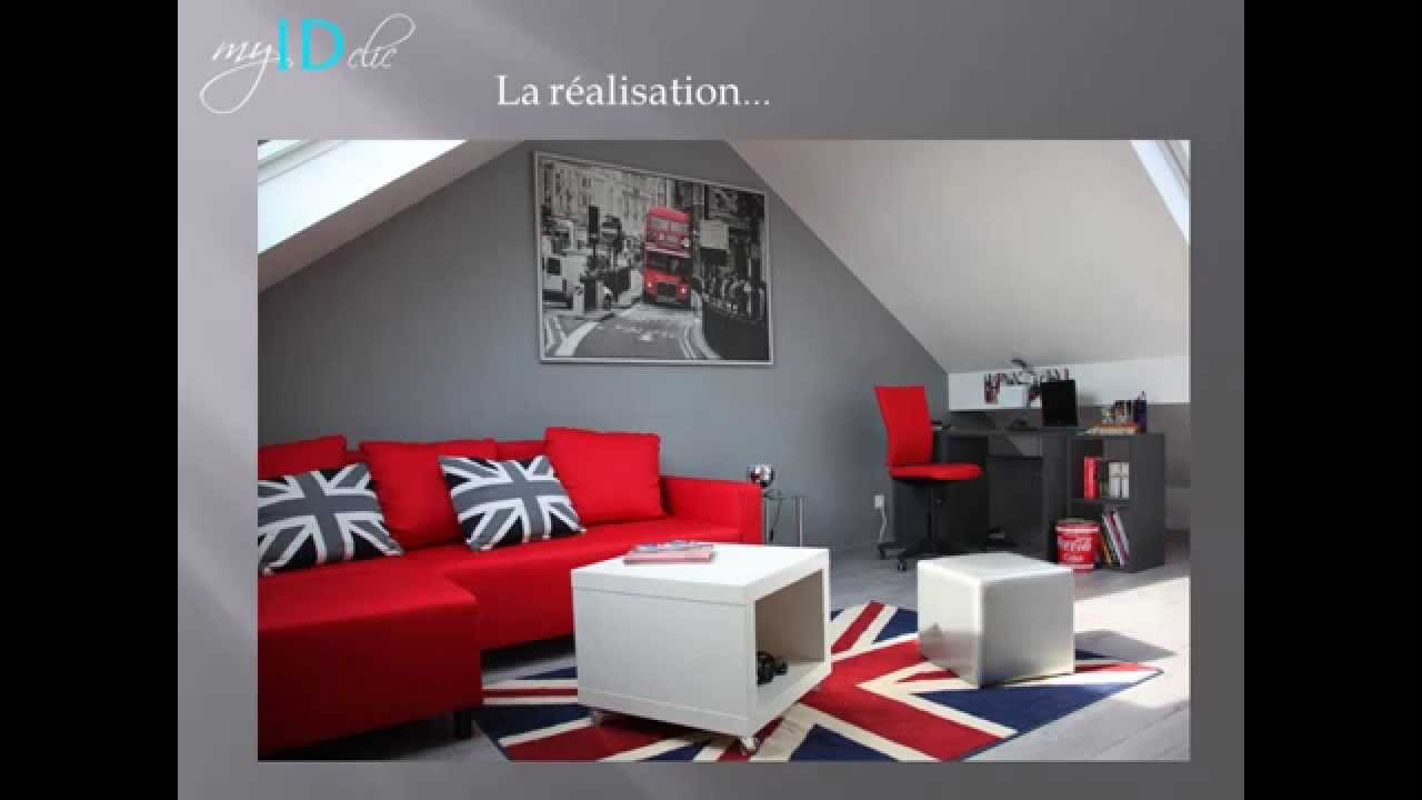 D co chambre theme london exemples d 39 am nagements for Theme deco maison