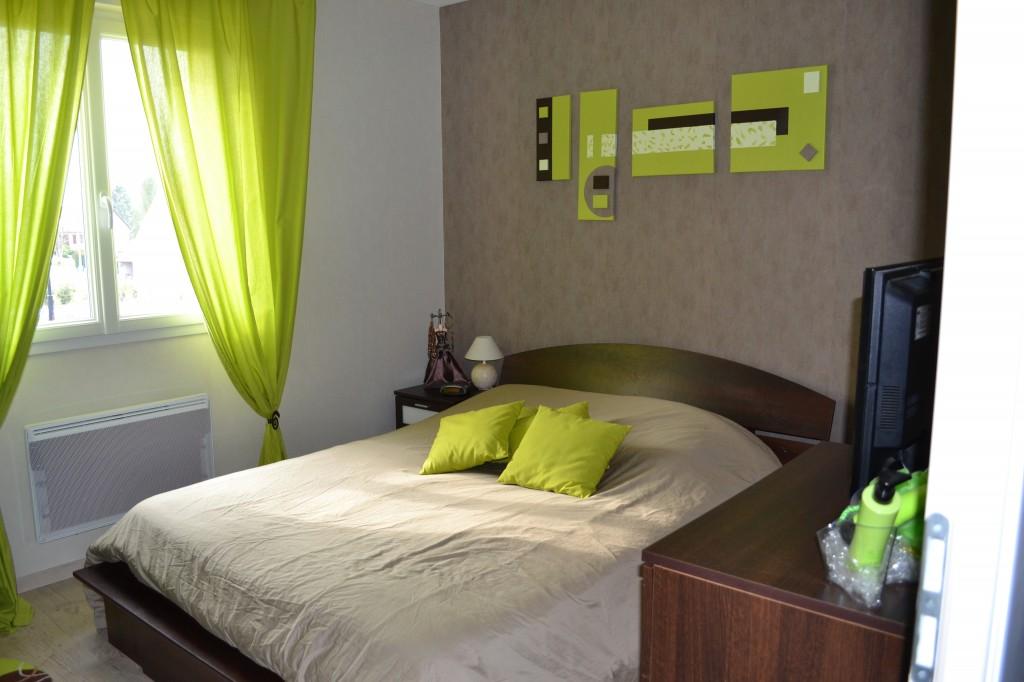 Déco chambre vert - Exemples d\'aménagements
