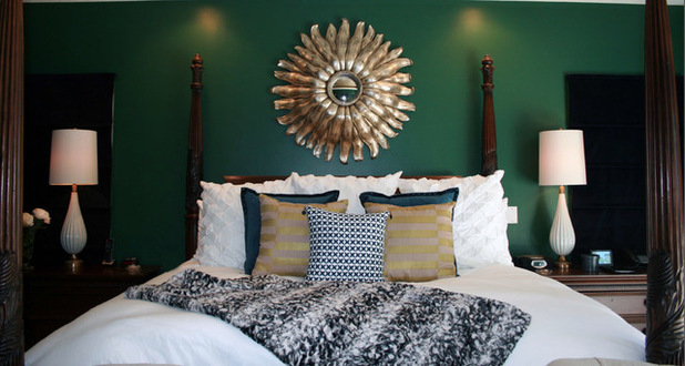 Deco Chambre Vert Emeraude Exemples D Amenagements