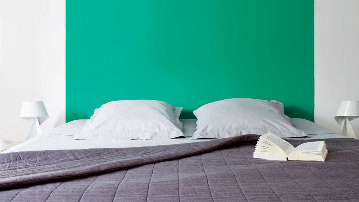 Déco chambre vert emeraude  Exemples d'aménagements