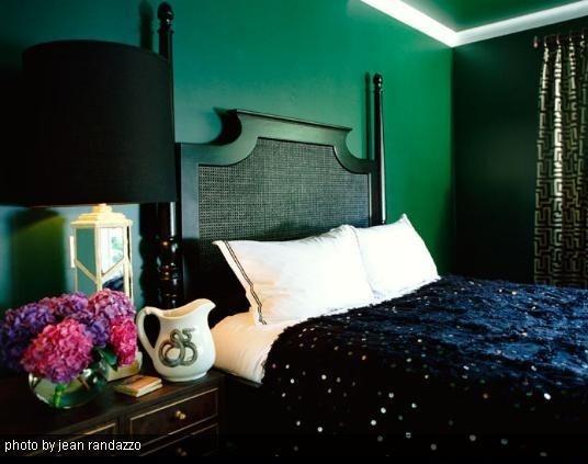 Deco Chambre Vert Emeraude Exemples D Amenagements