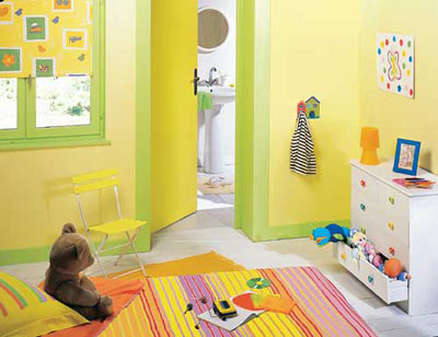 Best Chambre Jaune Et Vert Pictures - House Design - marcomilone.com