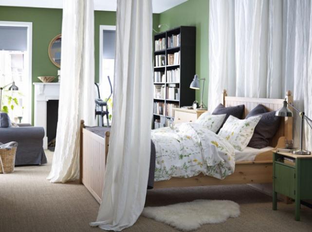 Déco chambre vert kaki - Exemples d\'aménagements