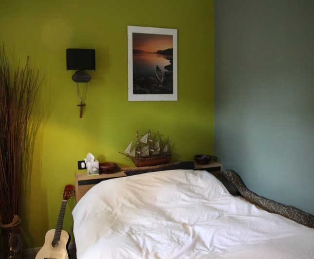 Dco Chambre Vert Olive  Exemples DAmnagements