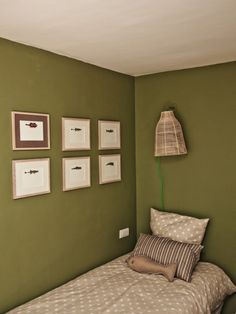 d co chambre vert olive. Black Bedroom Furniture Sets. Home Design Ideas