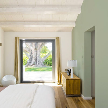 Photos décoration de Chambre d'adulte/suite Moderne/Design Vert Olive Gris
