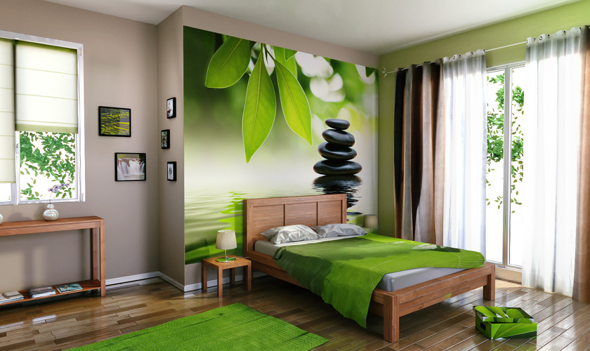 D co chambre zen ado exemples d 39 am nagements for Decoration mur de chambre adulte