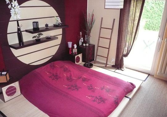 D co chambre zen japonais exemples d 39 am nagements - Chambre style japonais ...