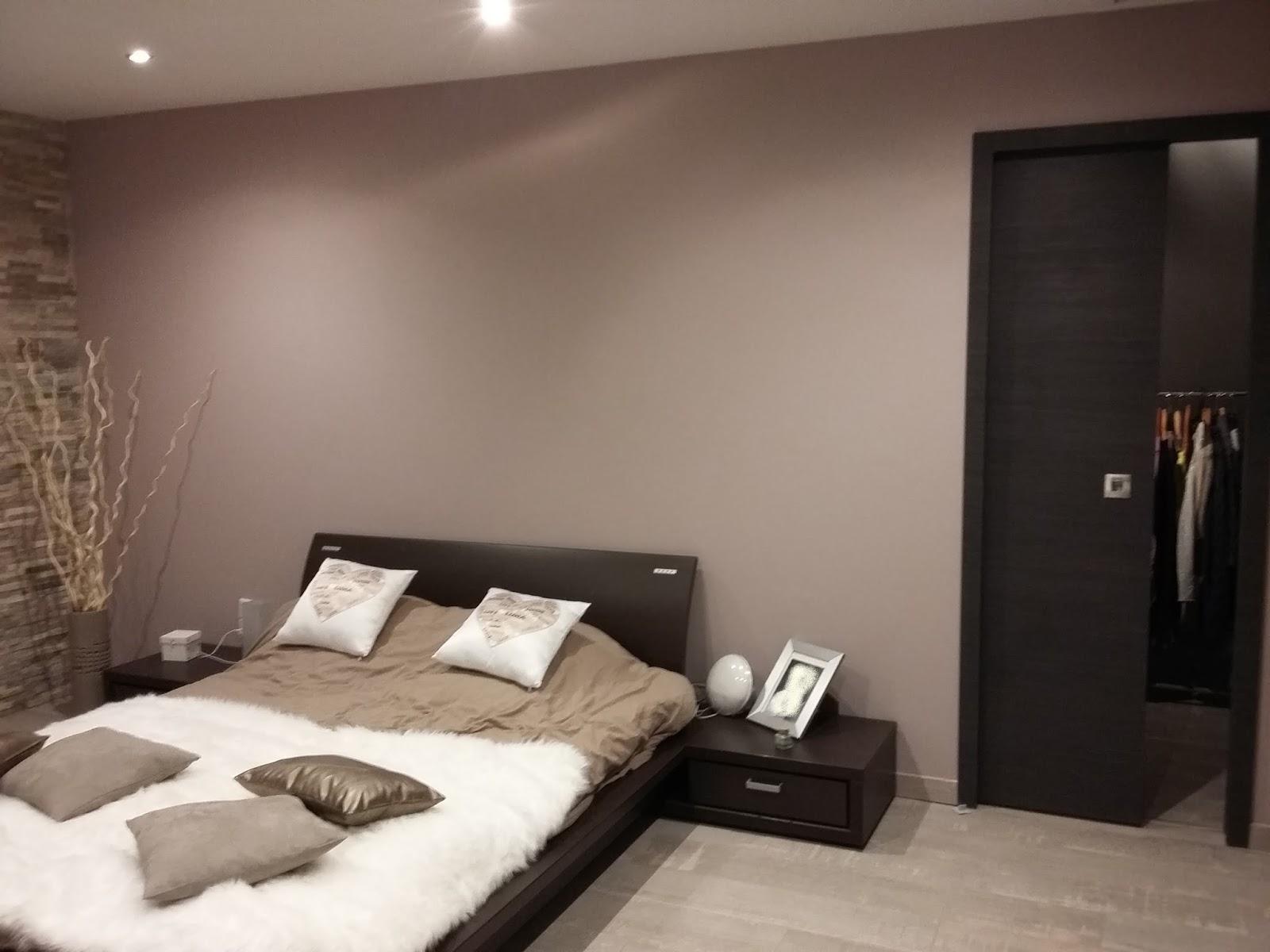 Emejing Chambre Marron Et Rose Gallery - House Design - marcomilone.com
