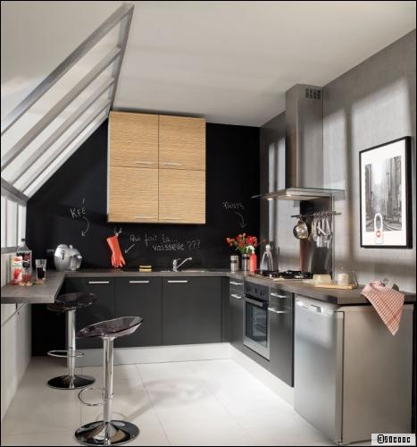 D co cuisine 10m2 exemples d 39 am nagements - Plan amenagement cuisine 10m2 ...
