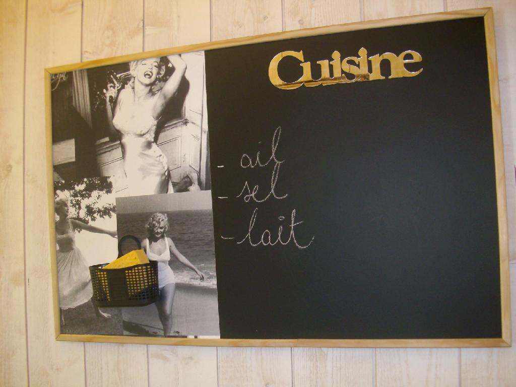 D co cuisine ardoise exemples d 39 am nagements for Ardoise interieur