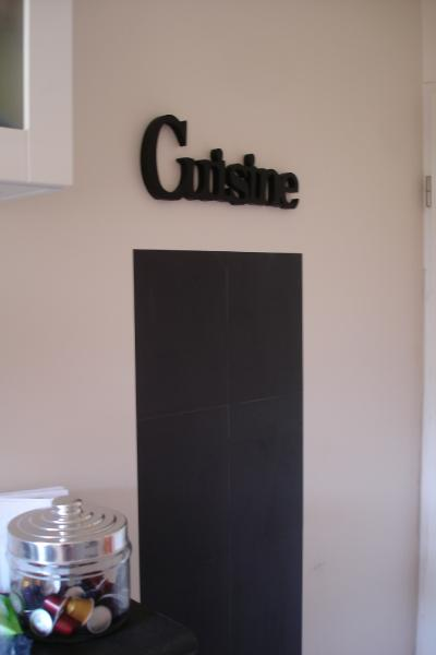 d co cuisine ardoise exemples d 39 am nagements. Black Bedroom Furniture Sets. Home Design Ideas