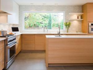 D co cuisine bois clair exemples d 39 am nagements - Deco cuisine bois ...