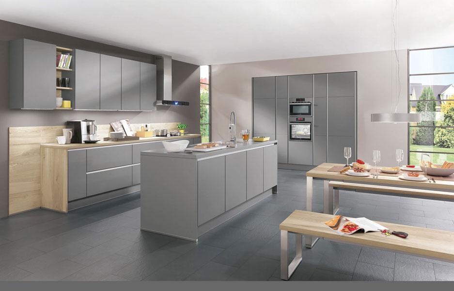 Déco cuisine gris clair - Exemples d\'aménagements
