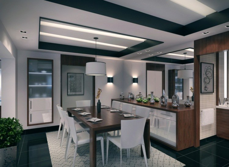 amenagement salon salle a manger cuisine ouverte top idee deco salon cuisine ouverte cuisine. Black Bedroom Furniture Sets. Home Design Ideas