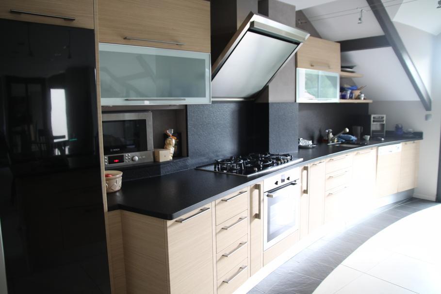 D co cuisine rectangulaire exemples d 39 am nagements for Idee amenagement cuisine rectangulaire