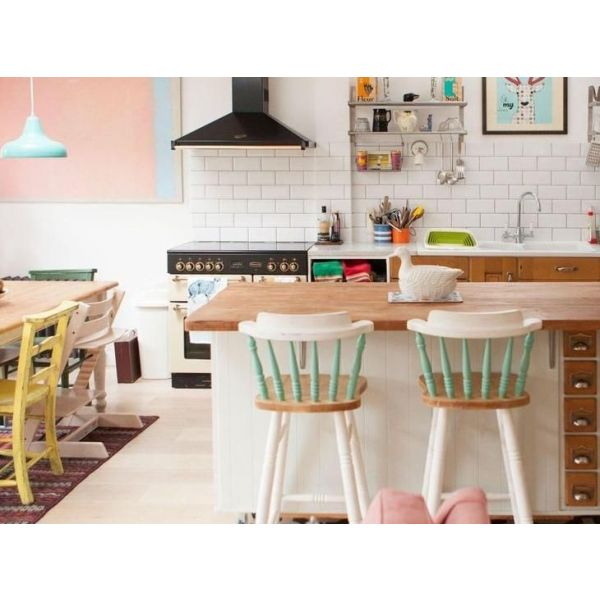 D co cuisine retro vintage exemples d 39 am nagements for Accessoire deco cuisine vintage