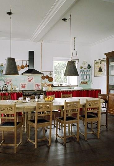 D co cuisine retro vintage exemples d 39 am nagements for Photo cuisine retro