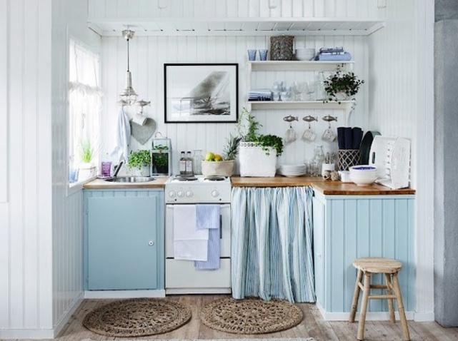 Déco cuisine style bord de mer - Exemples daménagements