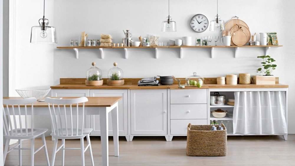 Cuisine : cuisine blanche style scandinave Cuisine Blanche ; Cuisine ...