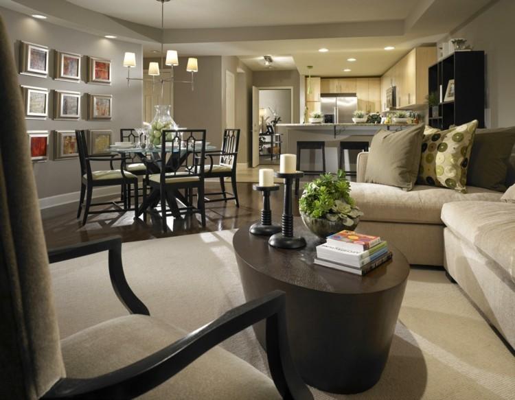 d co salle a manger sejour. Black Bedroom Furniture Sets. Home Design Ideas