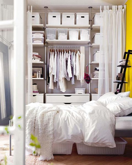exemple déco dressing ikea