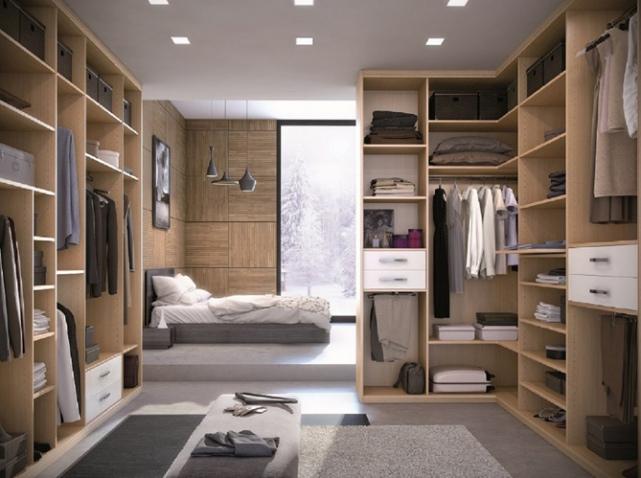 Déco dressing salle de bain - Exemples d\'aménagements