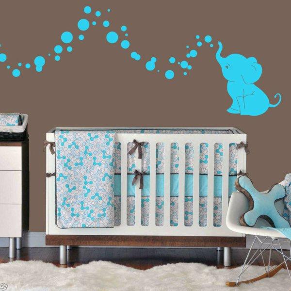 decoration chambre bebe elephant