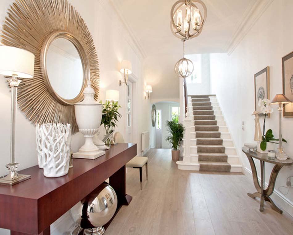 Déco entree maison interieur - Exemples d\'aménagements