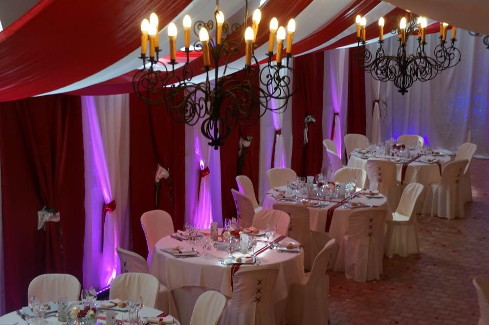 Connu Décoration salle des fêtes mariage - Le mariage DJ68