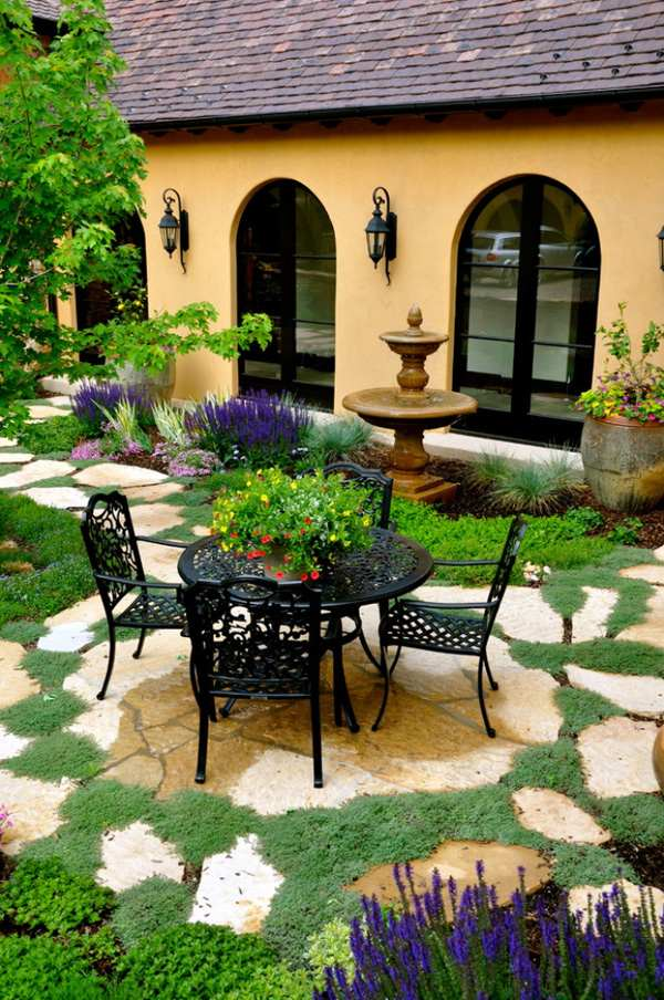 D co fer forge jardin exterieur exemples d 39 am nagements for Deco jardin exterieur photos