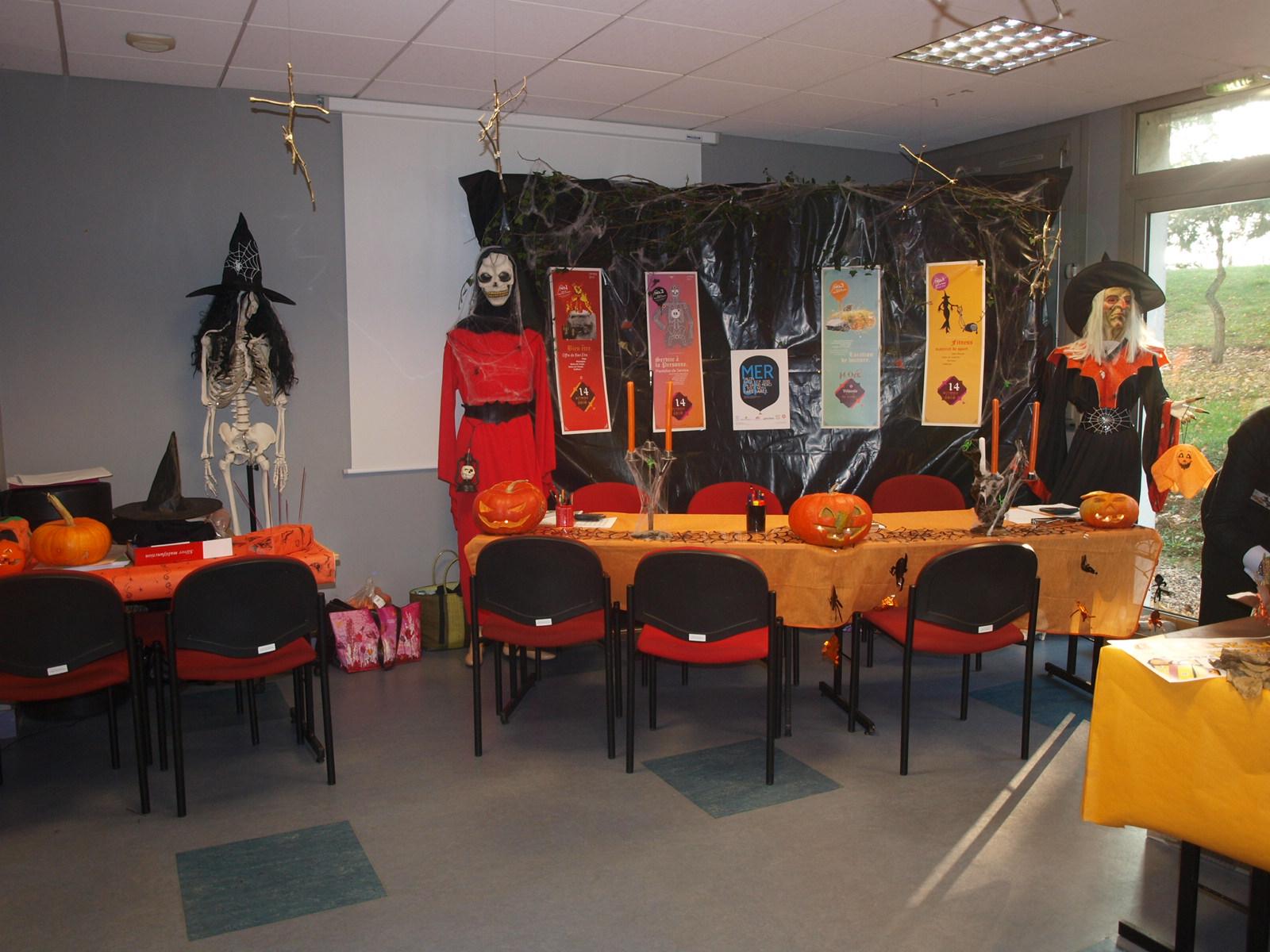 D coration salon halloween d co sphair - Decoration salon halloween ...