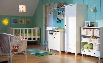 D co ikea chambre bebe exemples d 39 am nagements for Decoration de chambre de bebe