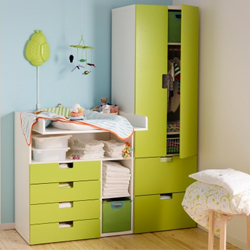 d co ikea chambre bebe exemples d 39 am nagements. Black Bedroom Furniture Sets. Home Design Ideas