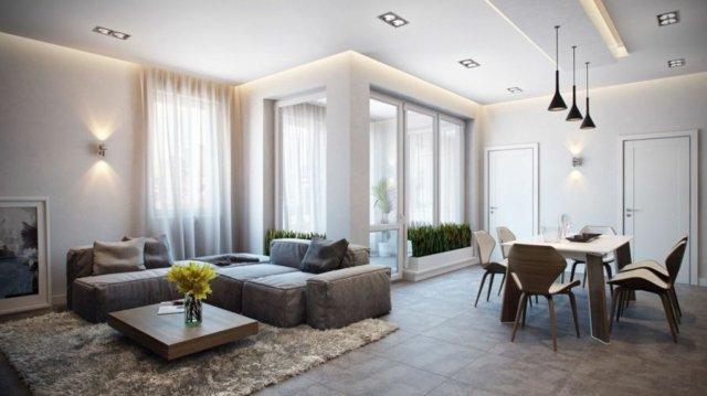 aménagement intérieur appartement moderne