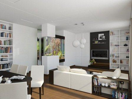 D co interieur appartement moderne - Decoration petit appartement moderne ...