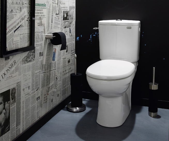 D co interieur toilettes exemples d 39 am nagements - Deco toilette moderne ...